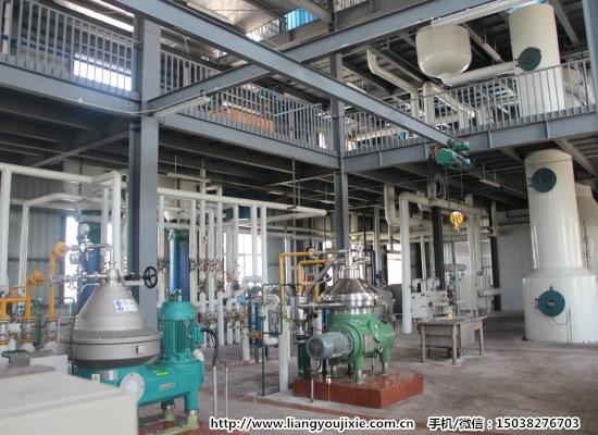 30/50/100/150/200/300吨/天棕榈油全连续精炼设备